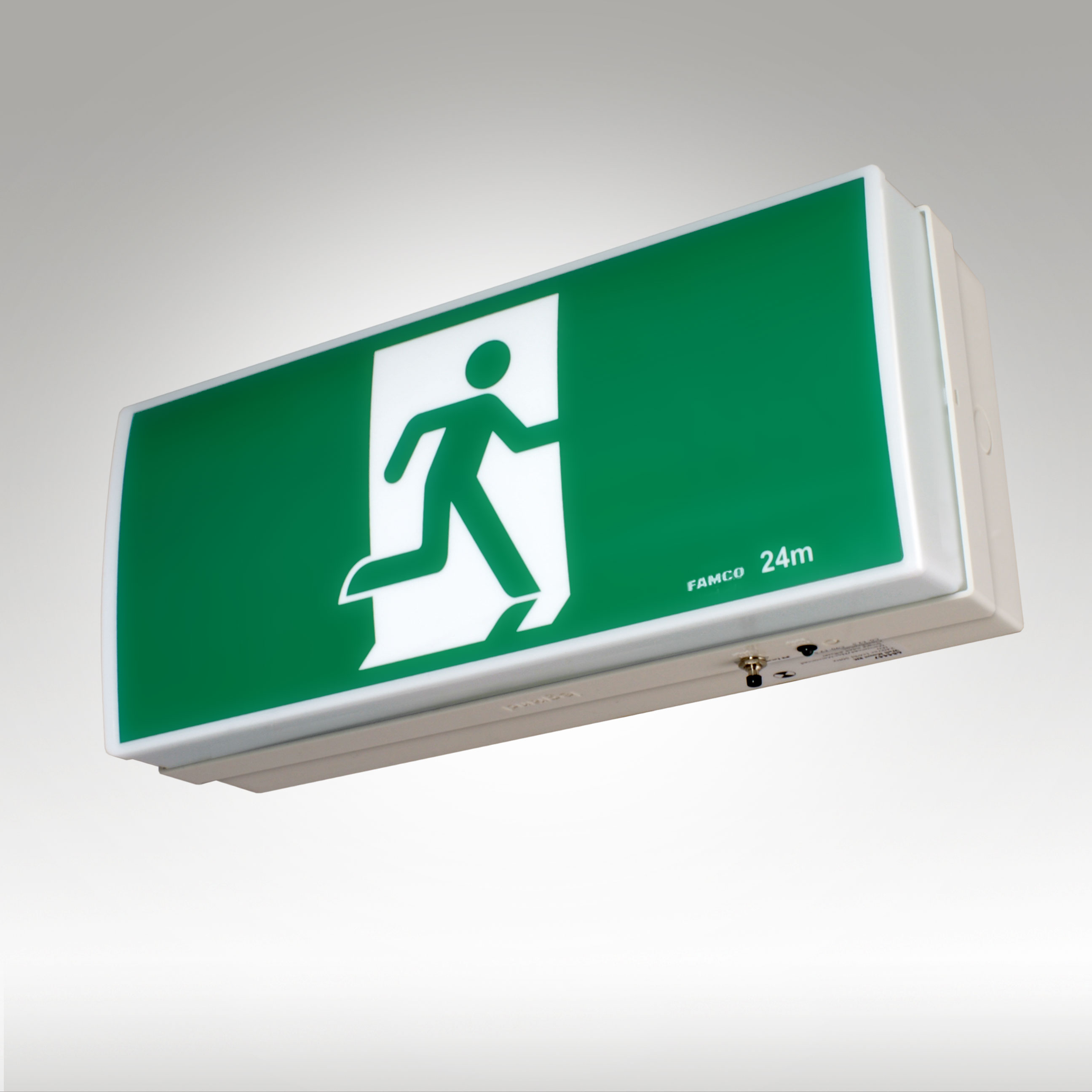 Wall Mounted Exit Lights : Utility LED Exit - Famco